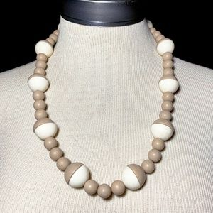 Vintage MCM Chunky Bead Necklace